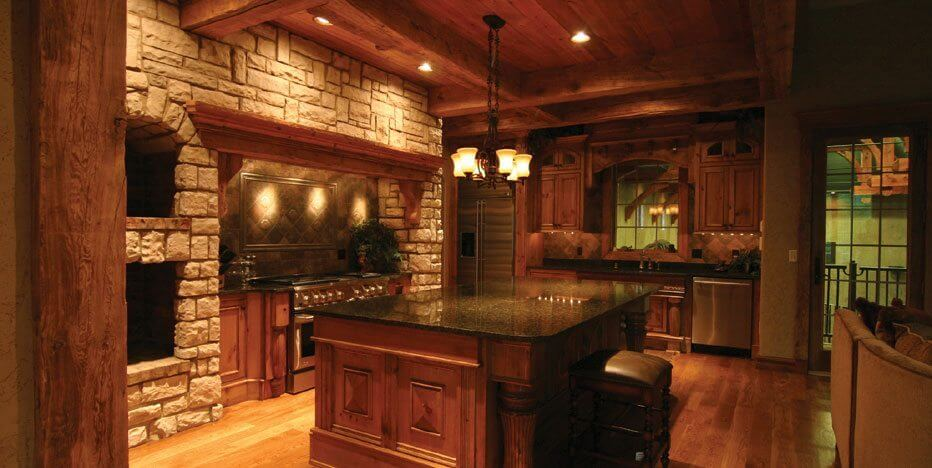 Euro world design we design homes with the character for Old world style kitchen designs